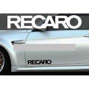 Set 2 buc. sticker auto lateral - RECARO