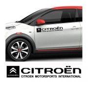 Sticker auto laterale CITROEN