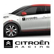 Sticker auto laterale CITROEN Racing