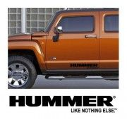 Sticker auto laterale HUMMER