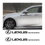 Sticker auto laterale LEXUS