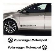 Sticker auto laterale Volkswagen