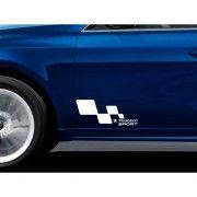 Stickere portiere Sport Flag - Peugeot