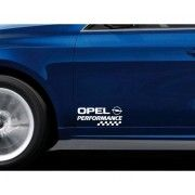 Stickere portiere Performance - Opel