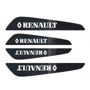 Set protectii usi Carbon 5D - Renault