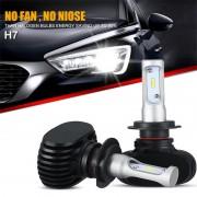 Becuri LED CSP - H7 - 8000 Lumeni 9-32V