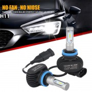 Becuri LED CSP - H11 - 8000 Lumeni 9-32V