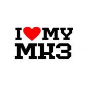 Sticker I Love My Mk3
