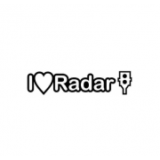 Sticker I Love Radar