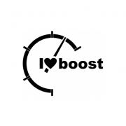 Sticker I Love Boost
