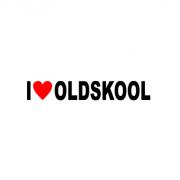 Sticker I Love Oldskool