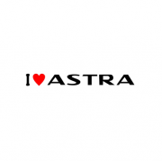 Sticker I Love Astra