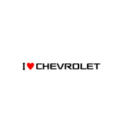 Sticker I Love Chevrolet
