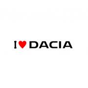 Sticker I Love Dacia