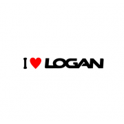 Sticker I Love Logan