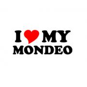 Sticker I Love My Mondeo