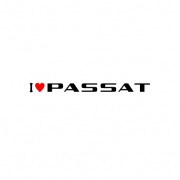 Sticker I Love Passat