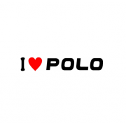 Sticker I Love Polo