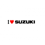 Sticker I Love Suzuki