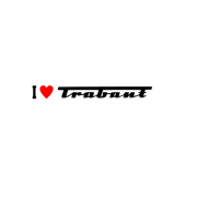 Sticker I Love Trabant