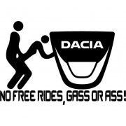 Sticker NFR Dacia