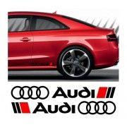 Sticker ornament auto lateral AUDI