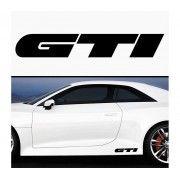 Sticker prag GTI (set 2 buc)