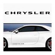 Sticker prag Chrysler (set 2 buc)