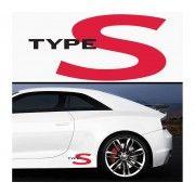 Sticker prag TYPE S (set 2 buc)