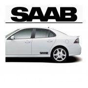 Sticker prag SAAB (set 2 buc)