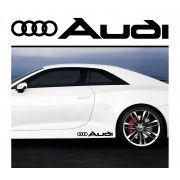 Sticker prag Audi (set 2 buc)