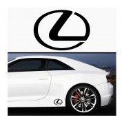 Sticker prag Lexus (set 2 buc)