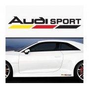 Sticker prag Audi (set 2 buc) - v6