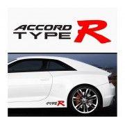 Sticker prag Accord Type R (set 2 buc)