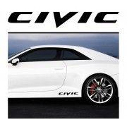 Sticker prag Civic (set 2 buc)