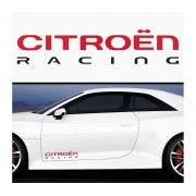 Sticker prag Citroen Racing (set 2 buc)