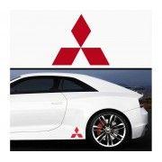 Sticker prag Mitsubishi (set 2 buc)
