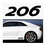 Sticker prag 206 (set 2 buc)