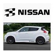 Sticker prag NISSAN (set 2 buc)