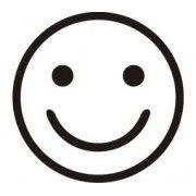 Stickere auto Smiley