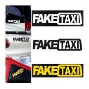 Sticker auto FakeTAXI Sign