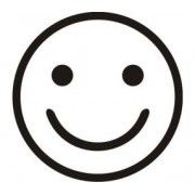 Stickere auto Smiley (v2)