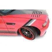 Sticker ornament auto model BMW ///M Power - Grey