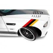 Sticker ornament auto model BMW ///M Power - German