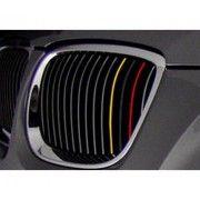 Sticker auto pentru grila aer model BMW German Flag