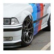 Sticker ornament auto model BMW ///M Power (v5)