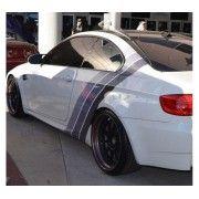 Sticker ornament auto model BMW ///M Power - Grey (v2)