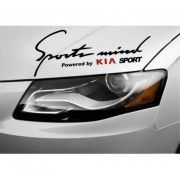 Sticker Sports Mind KIA (v2)