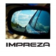 Stickere geam Etched Glass - Impreza (v2)