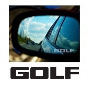 Stickere geam Etched Glass - Golf (v2)